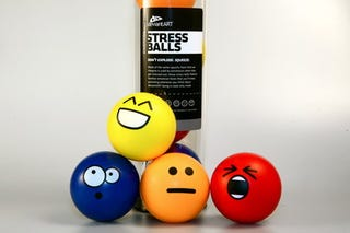 Illustration for article titled Squeeze Emoticon Stress Balls, Get Happy Ending