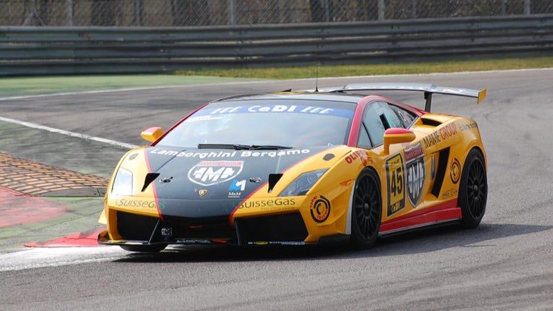 Illustration for article titled Lamborghini Racer Andrea Mamé Killed In Race At Paul Ricard Circuit