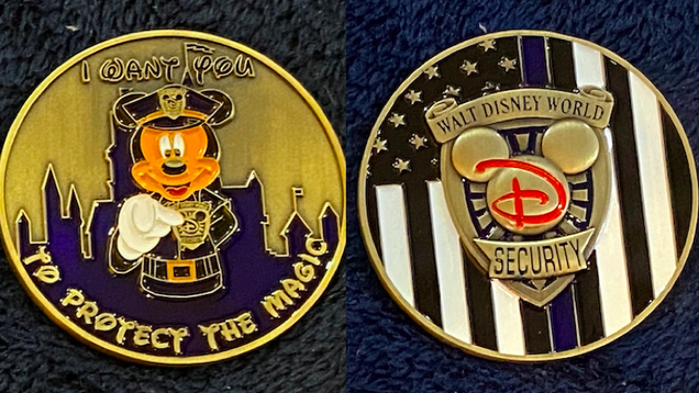 Disney Security s Unofficial Challenge Coins Are a Different Sort of Collector s Item