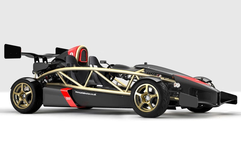 Illustration for article titled Ariel Atom 500 To Get V8 Power, Upgraded To Ariel Molecule?