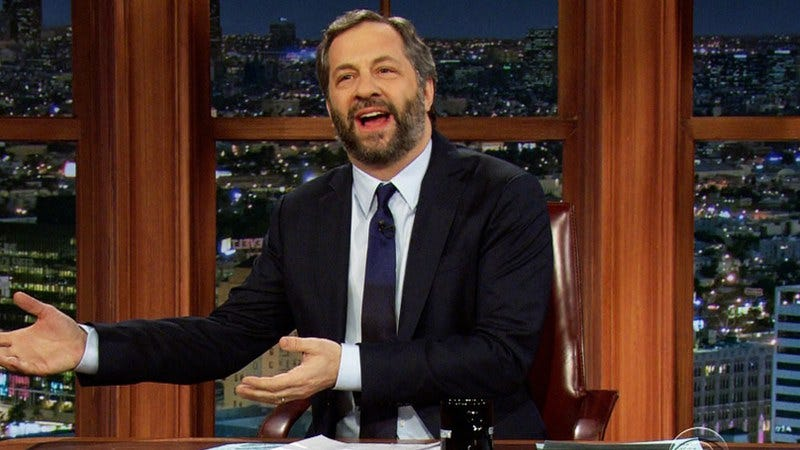Judd Apatow guest hosting The Late Late Show