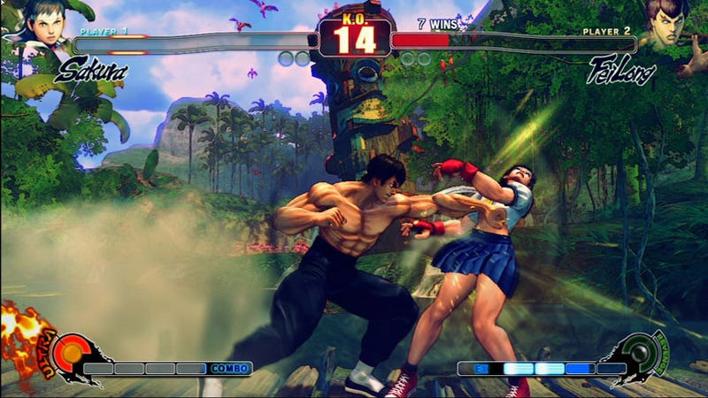 Illustration for article titled Some New Street Fighter IV Screens