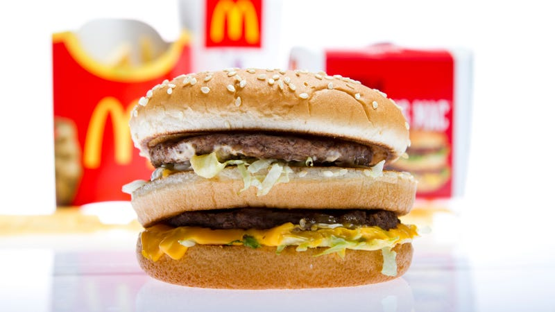 Illustration for article titled McDonald's is removing all artificial preservatives and colors from its classic burgers