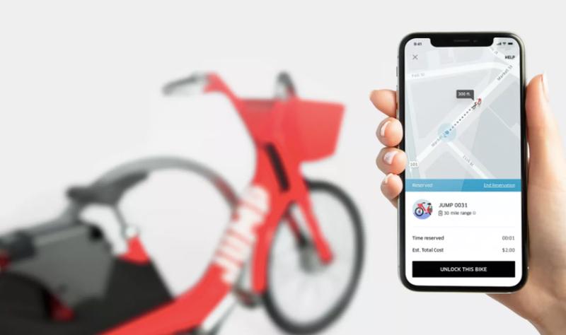 Illustration for article titled Uber entra oficialmente en el negocio del alquiler de bicicletas eléctricas con la compra de Jump