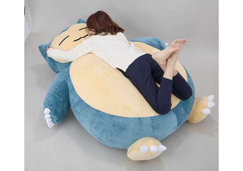 Illustration for article titled The Snorlax Cushion of Your Dreams Costs $460