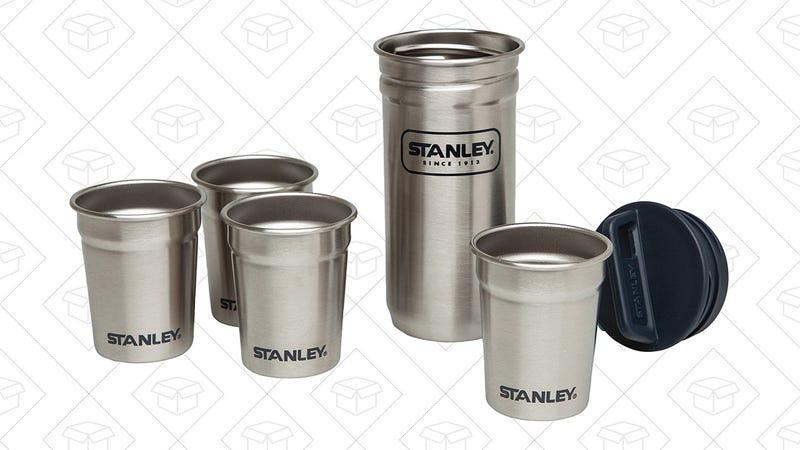 Stanley 4-Piece Steel Shot Glass Set | $10 | Amazon