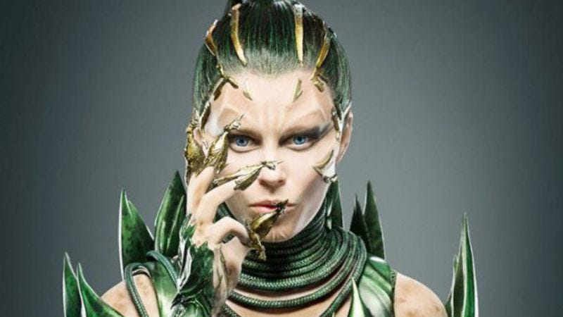 "Illustration for article titled Elizabeth Banks is a ""modern and edgy"" Rita Repulsa in the Power Rangers reboot"