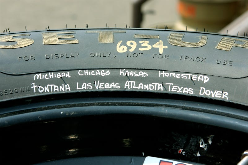 Illustration for article titled NASCAR: Rubbin' Spellin' Is Ain't Racin'