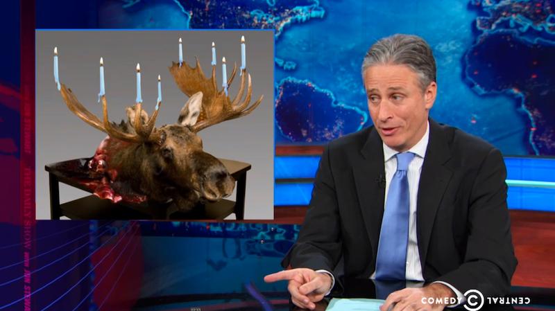 Illustration for article titled Jon Stewart Goes After the 'War on Christmas' Bullshit