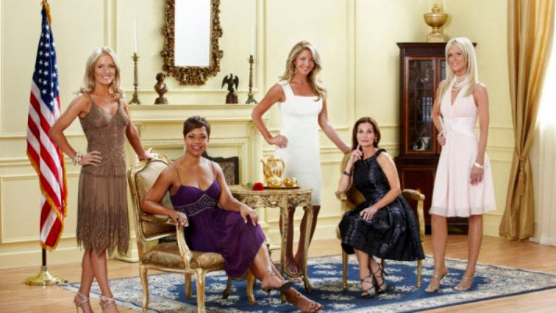 "Illustration for article titled The Real Housewives of D.C. - ""Welcome to the District"""