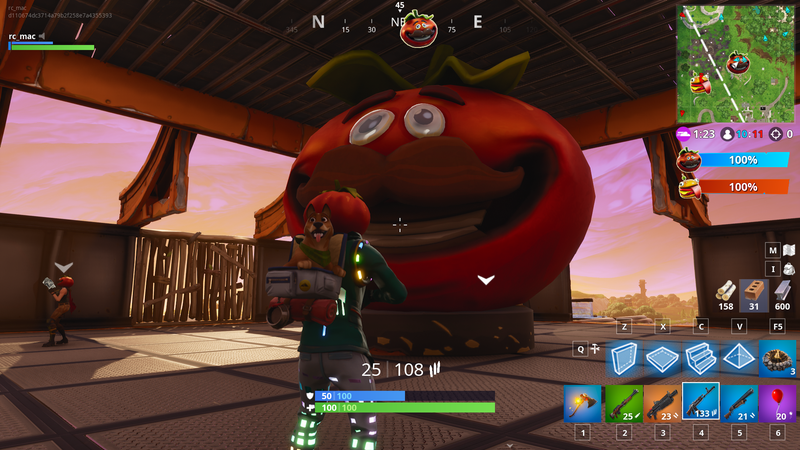 Illustration for article titled Fortnite's New Food Fight Mode Allows For Some Sneaky Sabotage
