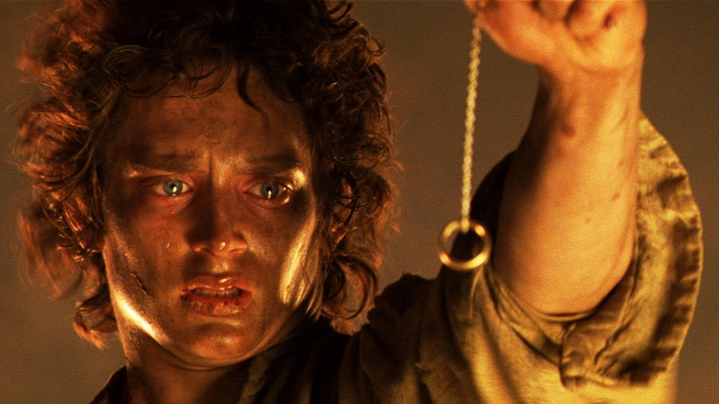 Frodo and the Ring.