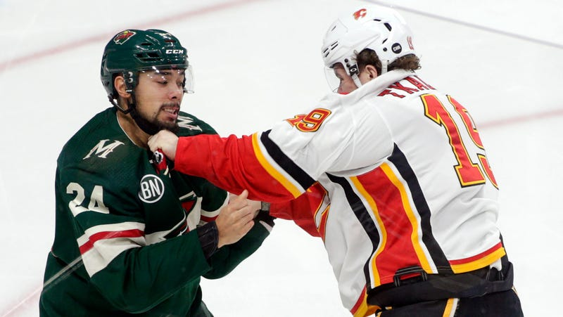 Illustration for article titled Matt Dumba Might Be Out For The Year Because He Threw A Bad Punch