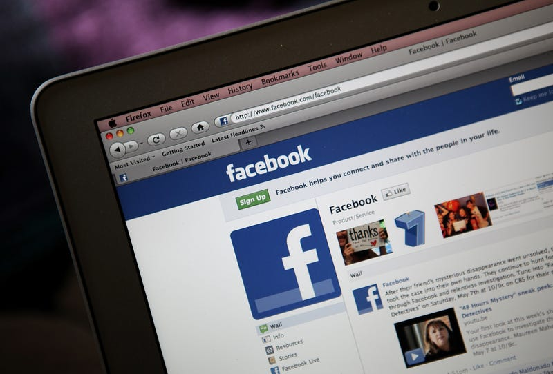 The Facebook website as displayed on a laptop computer in 2011Justin Sullivan/Getty Images