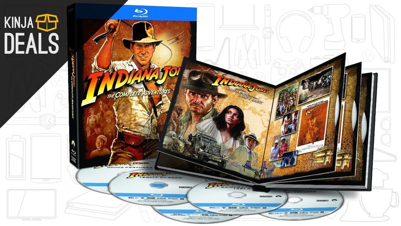 Illustration for article titled Today's Best Media Deals: Indiana Jones, Harry Potter, and More
