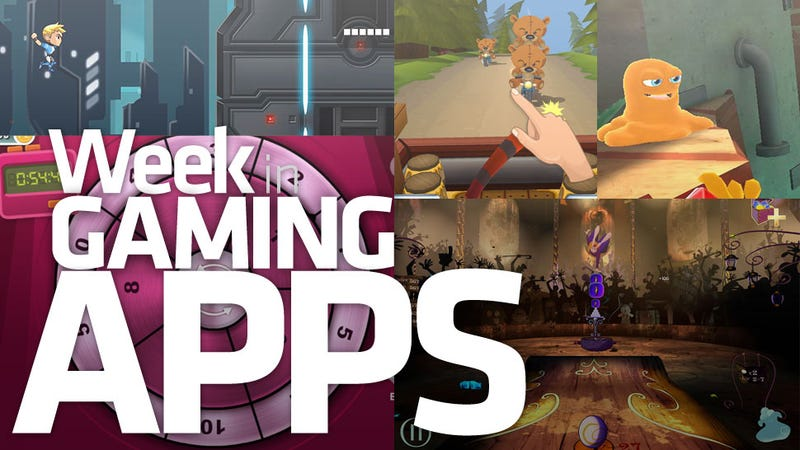 Illustration for article titled Not One Of This Week's Gaming Apps Will Cut Your Throat In Your Sleep