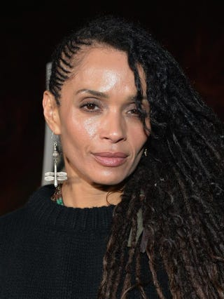 Lisa Bonet attends a screening of Sundance Channel's The Red Road at the Bronson Caves at Griffith Park in Los Angeles Feb. 24, 2014.Alberto E. Rodriguez/Getty Images