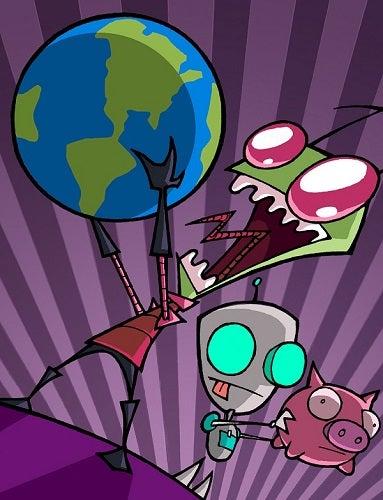 Illustration for article titled Holy crap Invader Zim is back!