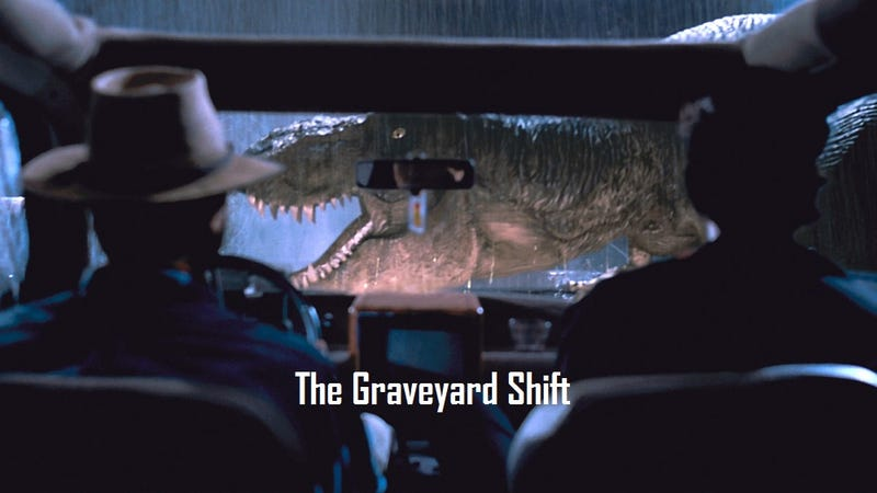 Illustration for article titled The Graveyard Shift *Clever Girl Edition - Movie Games