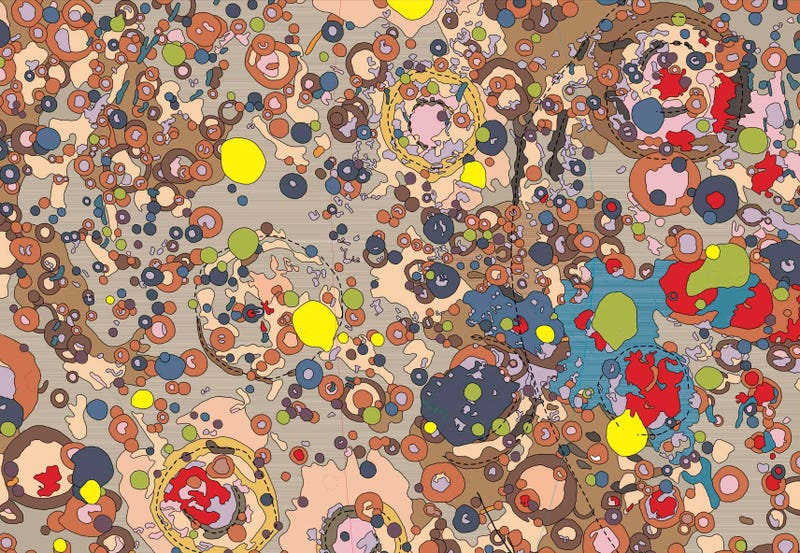 Illustration for article titled Beautiful astrogeological maps reveal the Moon's mysterious far side