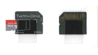 MiniDrive Adds Seamless Flash Storage to Your Mac via the SD Card Slot
