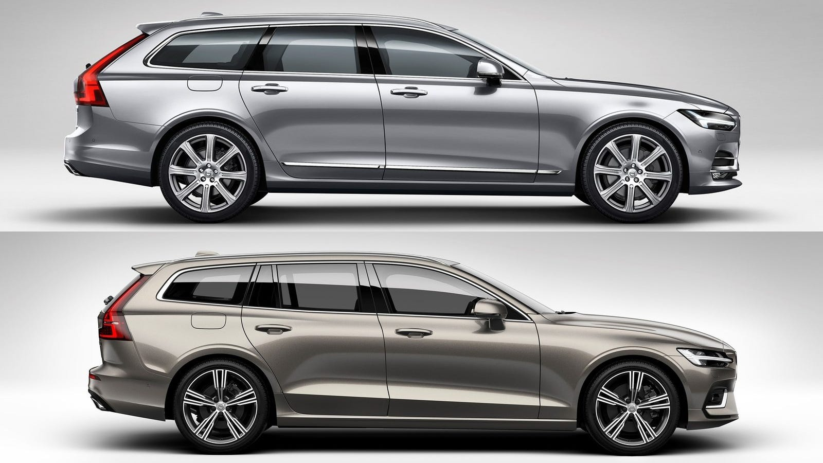 here 39 s how the volvo v90 compares to the new volvo v60. Black Bedroom Furniture Sets. Home Design Ideas