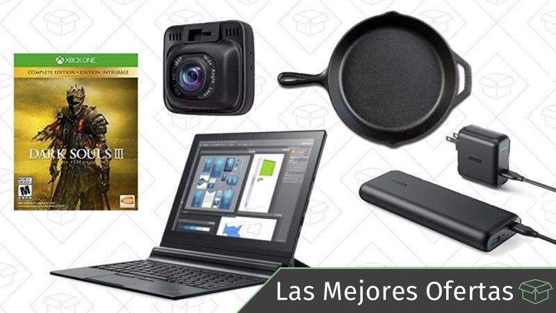 Illustration for article titled Las mejores ofertas de este miércoles: Lenovo ThinkPads, sartenes de hierro, cámaras para el coche y más