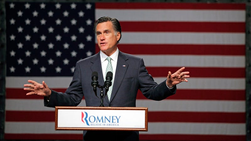 Illustration for article titled Mitt Romney Seeks an 'Incredibly Boring White Guy' to be His Vice President