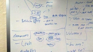 Illustration for article titled How a Whiteboard Helped a Terrible Delegator Keep a Team On-Task