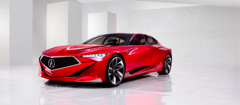 Illustration for article titled The Acura Precision Concept Is A Wild Sedan That Demands To Be Built