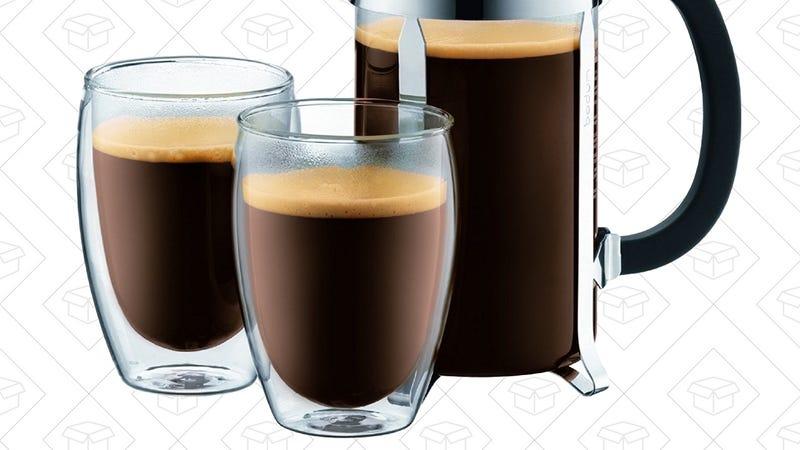Bodum Pavina Coffee Mug 2-Pack   $16   Amazon   Clip the $4 coupon