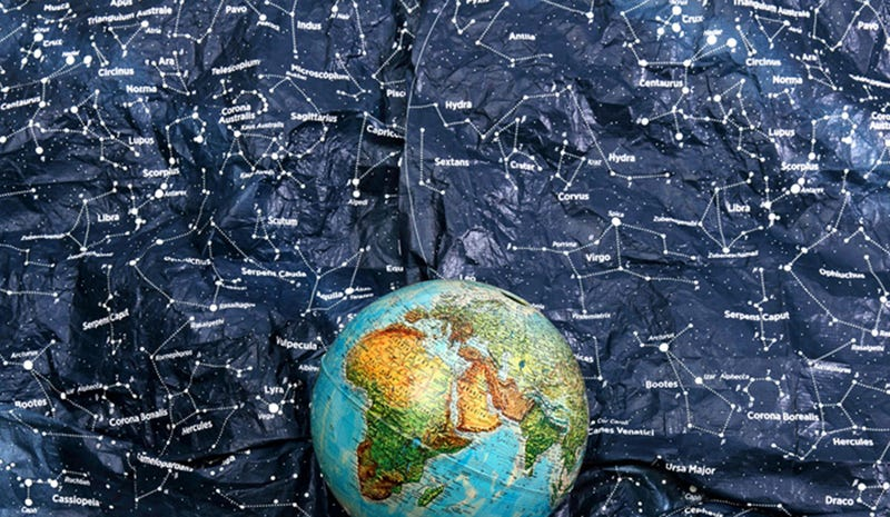 Get All Starry-Eyed With This Indestructible Tyvek Constellation Map