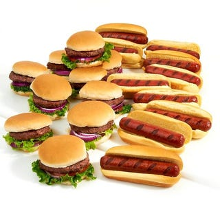 Illustration for article titled Great Food Debate: Hot Dogs vs. Burgers Special