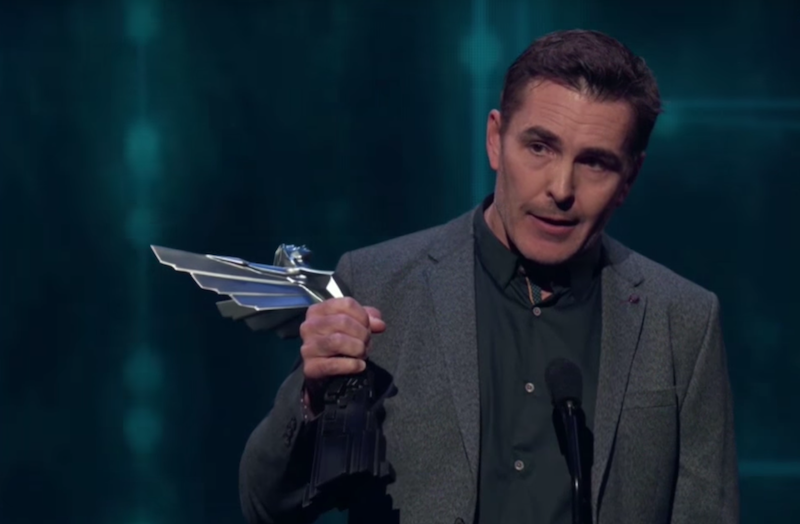 Nolan North at the Game Awards