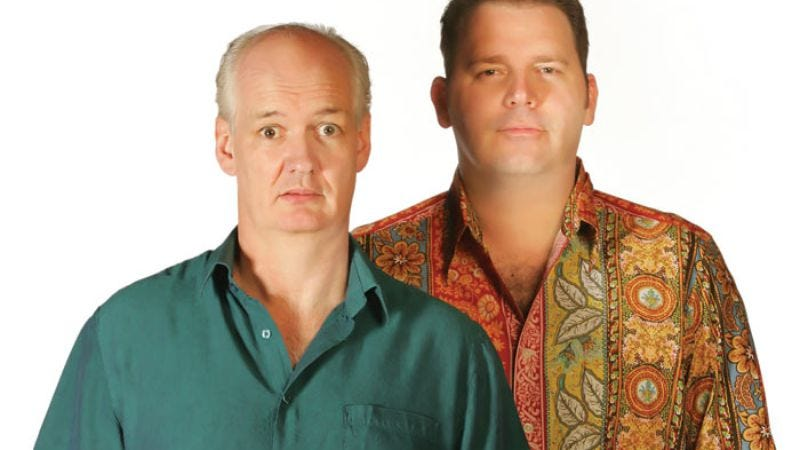 Illustration for article titled Colin Mochrie and Brad Sherwood