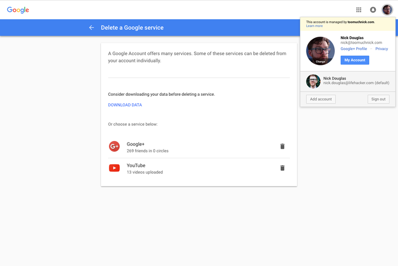 Everyone on Gmail Can See Your Embarrassing Google+ Profile