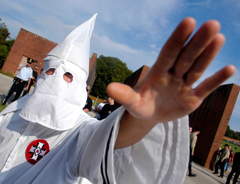 "A group raising ""a donation blessing"" for the Klux Klan was operating a PayPal account"