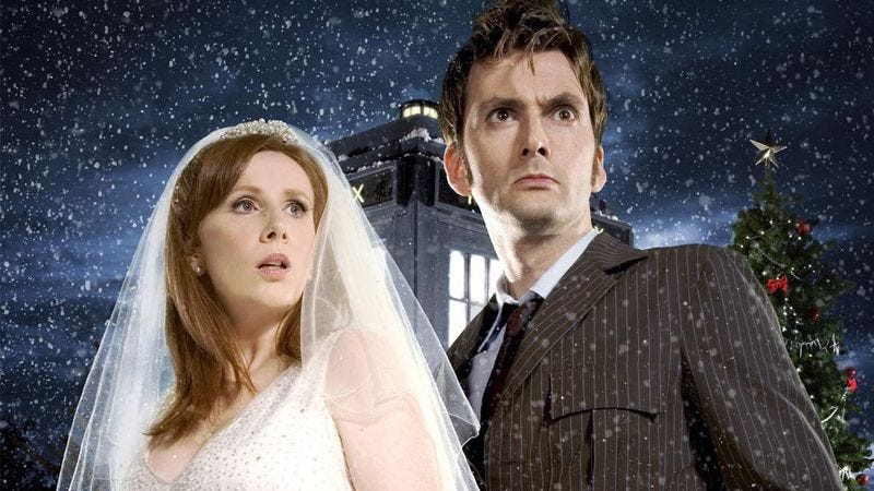 "Illustration for article titled Doctor Who: ""The Runaway Bride""/""Smith And Jones"""