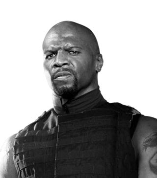 Illustration for article titled Terry Crews Talks The Expendables, Action Movies, and the Joys of His AT&T MicroCell