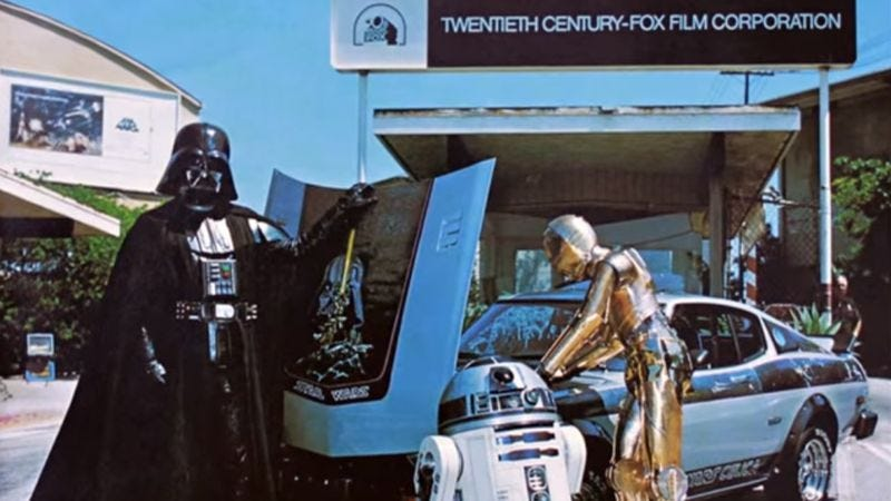 Illustration for article titled Star Wars gave away a customized Toyota Celica in 1977, and it's since gone missing