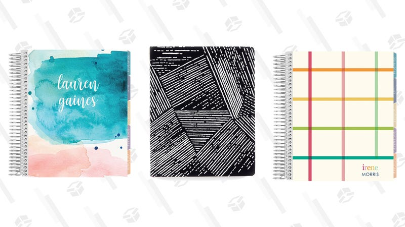25% Off Dated Planners and 40% Off Hardbound Planners | Erin Condren
