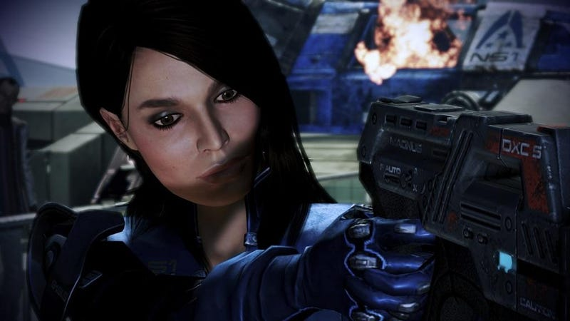 mass effect ashley romance
