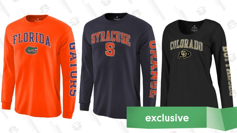 2 Shirts For $33, Plus Free Shipping   Fanatics   Promo code KINJANCAA
