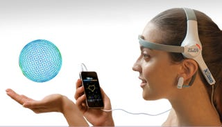 Illustration for article titled XWave Headset Lets You Control iPhone Apps With Your BRAIN