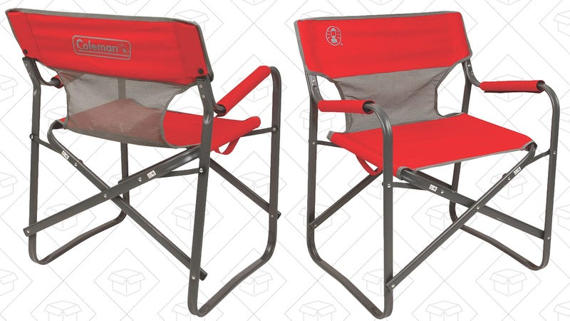 Coleman Outpost Breeze Deck Chair, $17