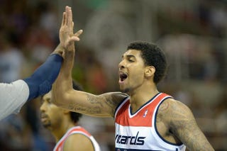 Glen Rice Jr. in 2013Alexandre Loureiro/Getty Images