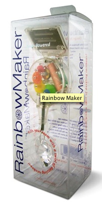 Illustration for article titled Rainbow Maker Does as Described