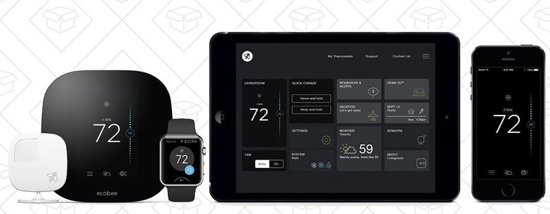 Ecobee3 Smart Thermostat, $199