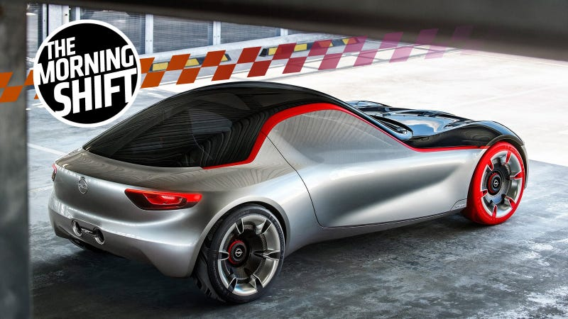 The 2016 Opel GT concept. Photo: Opel