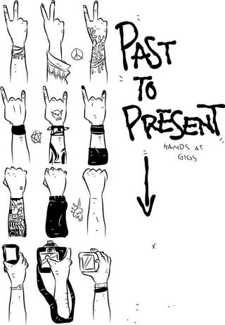 Illustration for article titled Concert Hands Evolution From the 1960s to 2010